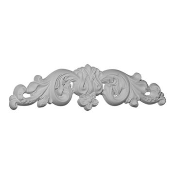 Restorers Architectural Floral Center Urethane Onlay Applique