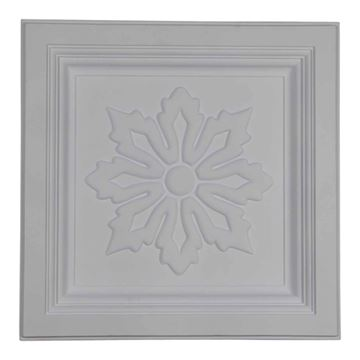 Restorers Architectural Floral Urethane Ceiling Tile
