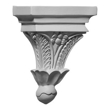 Restorers Architectural Floral Urethane Corbel
