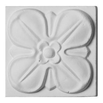 Restorers Architectural Flower Urethane Rosette Applique
