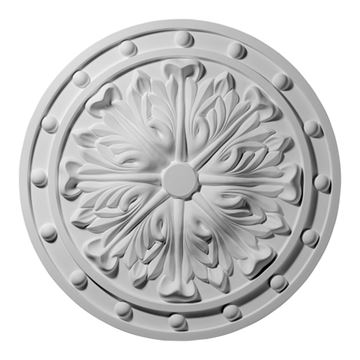 Restorers Architectural Foster Acanthus Urethane Ceiling Medallion