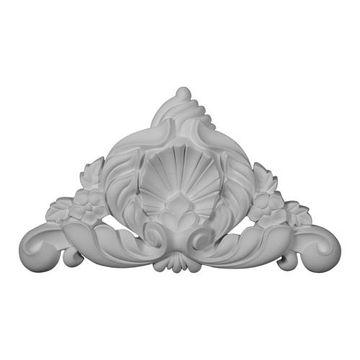 Restorers Architectural Genova Pointed Urethane Onlay Applique