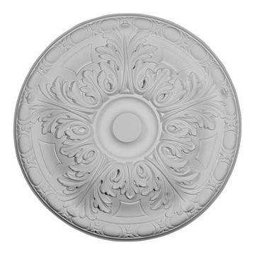 Restorers Architectural Granada 16 Inch Urethane Ceiling Medallion
