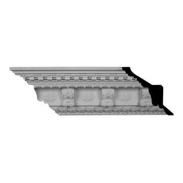 Restorers Architectural Granada Large Urethane Crown Molding