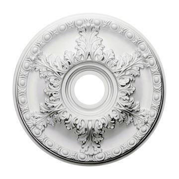 Restorers Architectural Granada Open Urethane Ceiling Medallion
