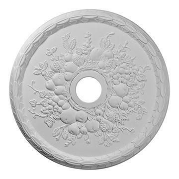 Restorers Architectural Grape Urethane Ceiling Medallion
