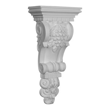 Restorers Architectural Grape Urethane Corbel