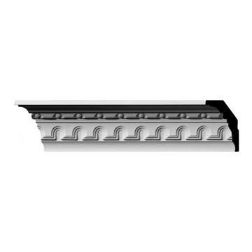 Restorers Architectural Heaton Arch & Bead Urethane Crown Molding