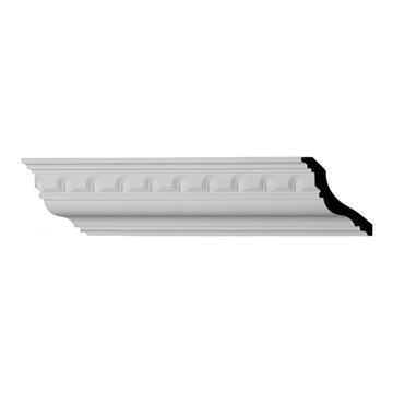 Restorers Architectural Heaton Top Arch Urethane Crown Molding