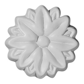 Restorers Architectural Hurley Urethane Rosette Applique