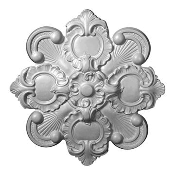 Restorers Architectural Katheryn Square Urethane Ceiling Medallion