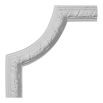 Restorers Architectural Kendall Corner Urethane Panel Molding