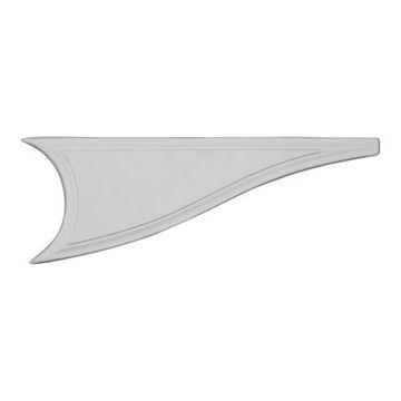 Restorers Architectural Kepler Fin Urethane Onlay Applique