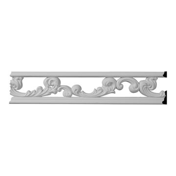 Restorers Architectural Kinsley Urethane Pierced Molding Insert Only