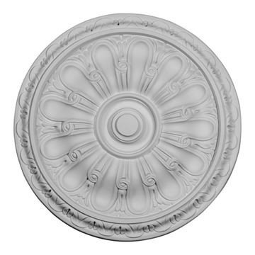 Restorers Architectural Kirke 16 Inch Urethane Ceiling Medallion