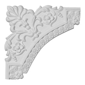 Restorers Architectural Lanarkshire Corner Urethane Panel Molding