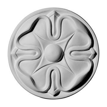 Restorers Architectural Large Flower Urethane Rosette Applique