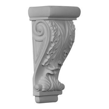 Restorers Architectural Leaf & Scroll Urethane Corbel