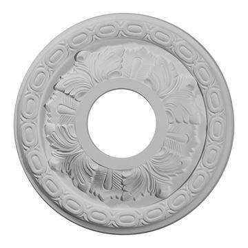 Restorers Architectural Leaf 11 Inch Urethane Ceiling Medallion
