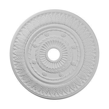 Restorers Architectural Leaf 26 Inch Urethane Ceiling Medallion