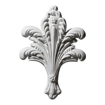 Restorers Architectural Leaf Bundle Urethane Onlay Applique