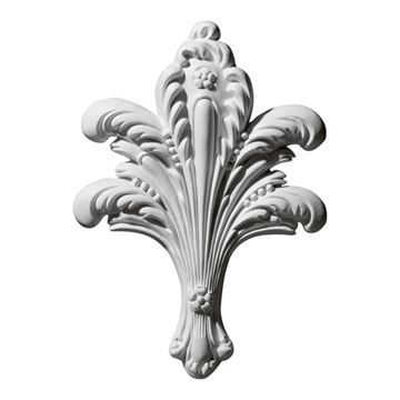 Restorers Architectural Leaf Bundle Urethane Onlay Applique