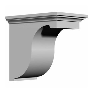 Restorers Architectural Legacy 12 Inch Corbel Urethane Bracket