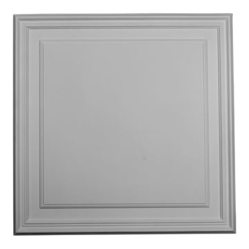 Restorers Architectural Legacy 21 5/8 Inch Urethane Rectangle Wall Or Door Panel