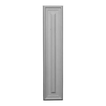 Restorers Architectural Legacy 4 3/4 Inch Urethane Rectangle Wall Or Door Panel