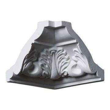 Restorers Architectural Legacy Acanthus Leaf Urethane Inside Molding Corner