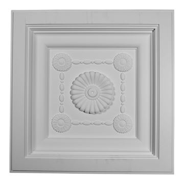 Restorers Architectural Logan Urethane Ceiling Tile