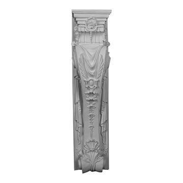 Restorers Architectural Monique Urethane Fireplace Surround Column