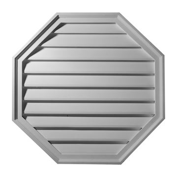 Restorers Architectural Octagon Urethane Decorative Gable Vent
