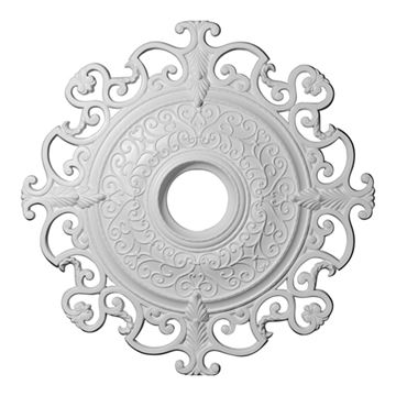 Restorers Architectural Orleans Ornate Urethane Ceiling Medallion