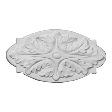Restorers Architectural Oxford Oval Urethane Onlay Applique