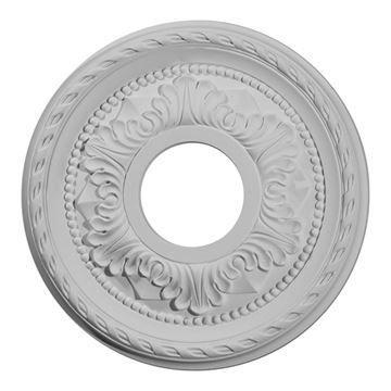 Restorers Architectural Palmetto Open Urethane Ceiling Medallion