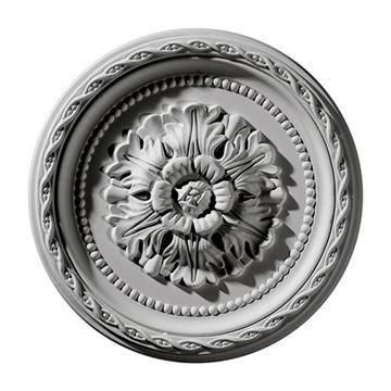 Restorers Architectural Palmetto Urethane Ceiling Medallion