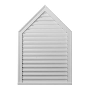 Restorers Architectural Peaked Urethane Decorative Gable Vent