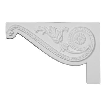 Restorers Architectural Pearl Large Urethane Stair Bracket