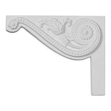 Restorers Architectural Pearl Urethane Stair Bracket