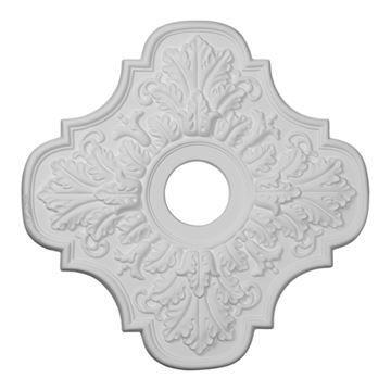 Restorers Architectural Peralta Urethane Ceiling Medallion