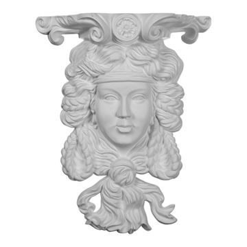 Restorers Architectural Princess Urethane Sconce