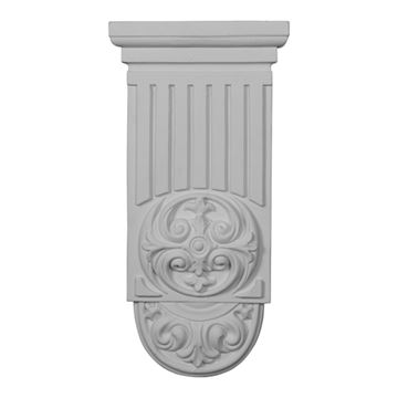 Restorers Architectural Ralston Fluted Urethane Onlay Applique