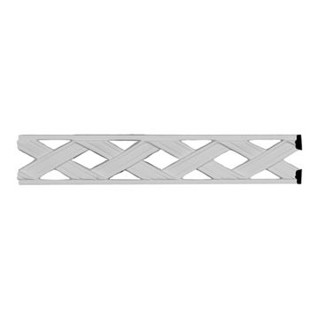 Restorers Architectural Ribbon Pierced Urethane Panel Molding