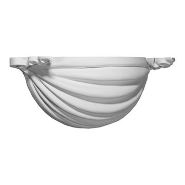 Restorers Architectural Ribbon Urethane Sconce