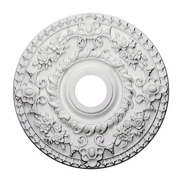 Restorers Architectural Rose 18 Inch Urethane Ceiling Medallion