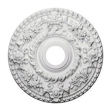 Restorers Architectural Rose 18 Inch Urethane Ceiling Medallion