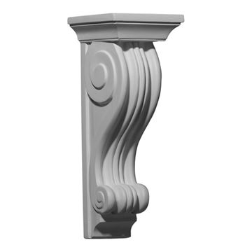 Restorers Architectural Salem Scroll Urethane Corbel