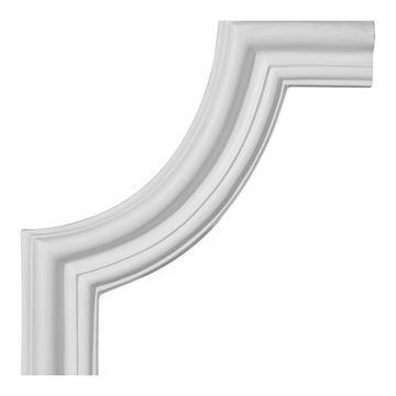 Restorers Architectural Seville Corner Urethane Panel Molding