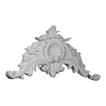 Restorers Architectural Shell & Scroll Urethane Onlay Applique